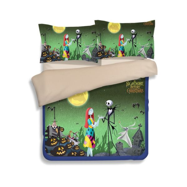 Horror Christmas Movie bedding set 1