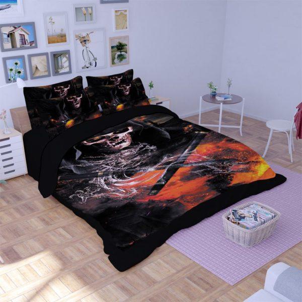 Horror Skull 3D Printed Bedding Set 1 600x600 - Horror Skull 3D Printed Bedding Set