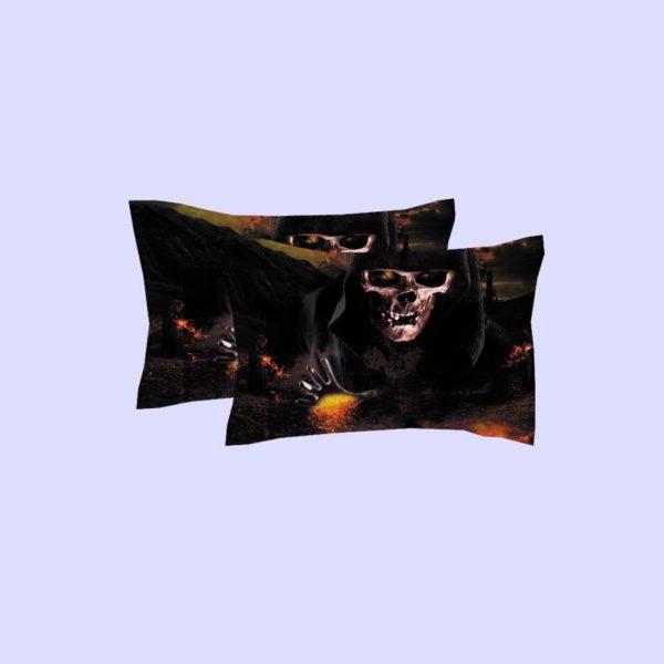 Horror Skull 3D Printed Bedding Set 3 600x600 - Horror Skull 3D Printed Bedding Set