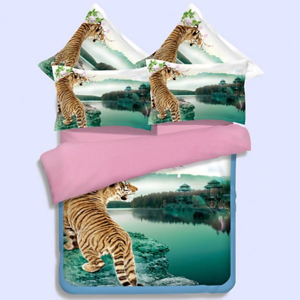 Imperial Tiger picture Printed Bedding Set 1 600x600 - Imperial Tiger picture Printed Bedding Set