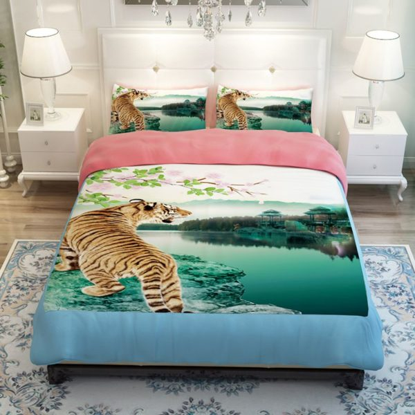 Imperial Tiger picture Printed Bedding Set 2 600x600 - Imperial Tiger picture Printed Bedding Set