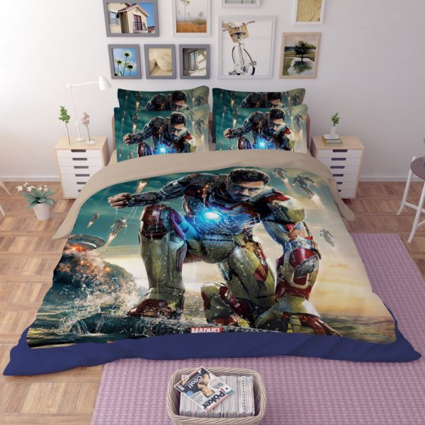 Iron Man 3 Bedding Set 4