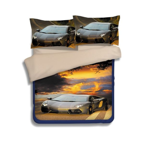 Lamborghini Aventador Car Printed Bedding Set 2 600x600 - Lamborghini Aventador Car Printed Bedding Set