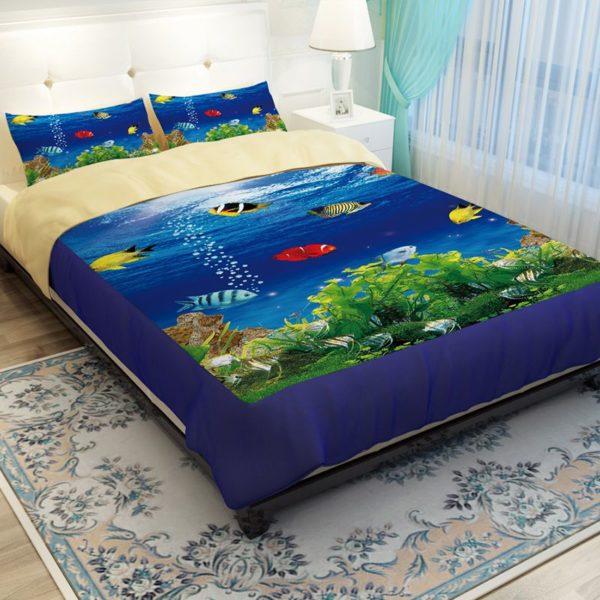 Lovely Fish Ocean Bedding Set 2 600x600 - Lovely Fish Ocean Bedding Set