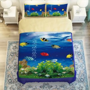 Lovely Fish Ocean Bedding Set