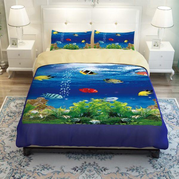Lovely Fish Ocean Bedding Set 5 600x600 - Lovely Fish Ocean Bedding Set