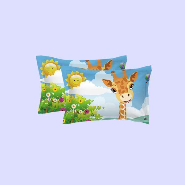 Lovely Lion Wildlife Printed Bedding Set