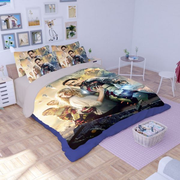 Marvel Iron Man 3 Movie Bedding Set 1
