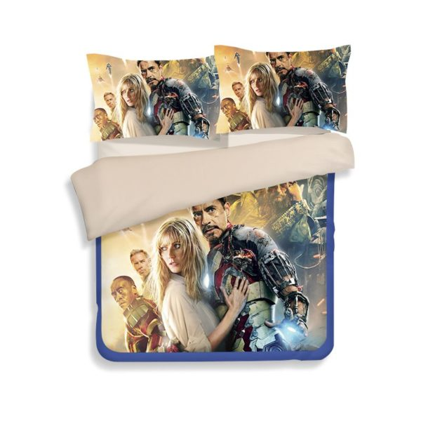 Marvel Iron Man 3 Movie Bedding Set 3