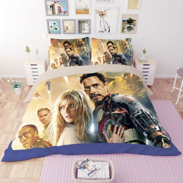 Marvel Iron Man 3 Movie Bedding Set 4