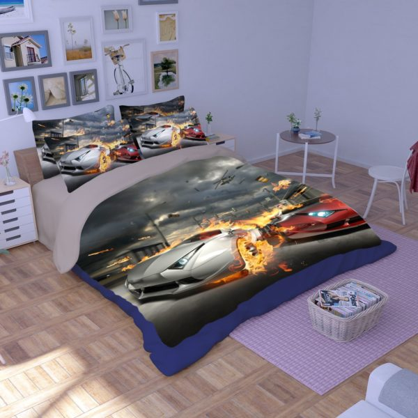Most Wanted Car Race Bedding Set 1