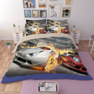 Most Wanted Car Race Bedding Set 3 300x300 - Most Wanted Car Race Bedding Set