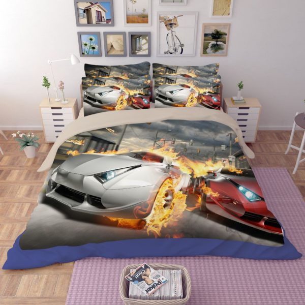Most Wanted Car Race Bedding Set 3