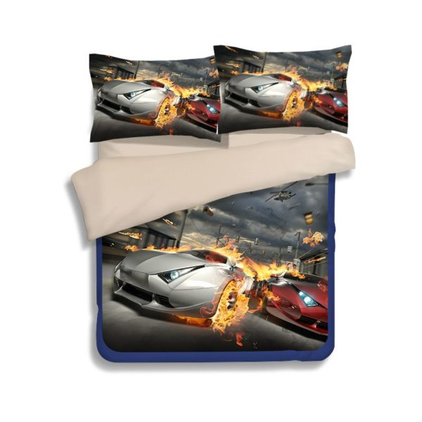 Most Wanted Car Race Bedding Set 4