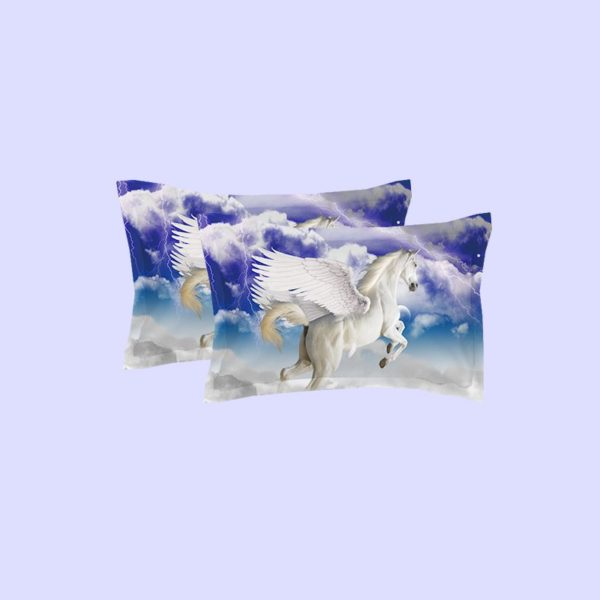 Pegasus the Winged Horse Printed Bedding Set 4 600x600 - Pegasus the Winged Horse Printed Bedding Set