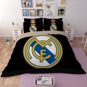 Real Madrid Logo printed bedding set 3 300x300 - Real Madrid Logo printed bedding set