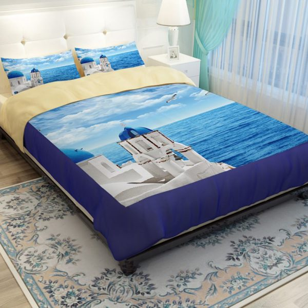 Scenic Ocean Curtain Set In Blue Printed Bedding Set 2 600x600 - Scenic Ocean Curtain Set In Blue Printed Bedding Set