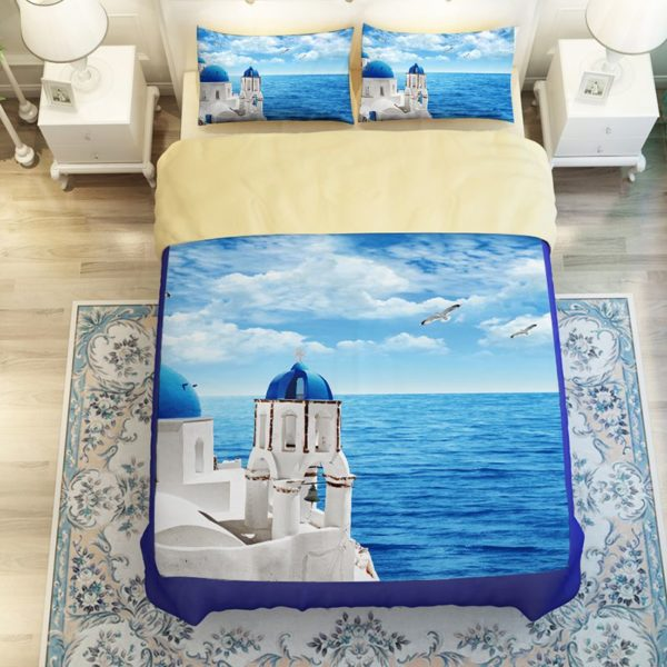 Scenic Ocean Curtain Set In Blue Printed Bedding Set 4 600x600 - Scenic Ocean Curtain Set In Blue Printed Bedding Set