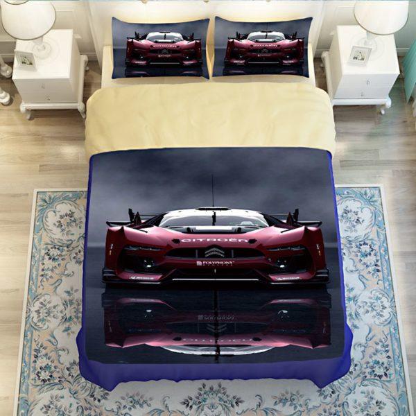 Stunning Ferrari Car Printed Bedding Set 3