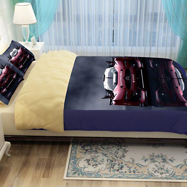 Stunning Ferrari Car Printed Bedding Set 4