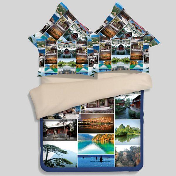 Stylish Nature Bedding Set 1 600x600 - Stylish Nature Bedding Set