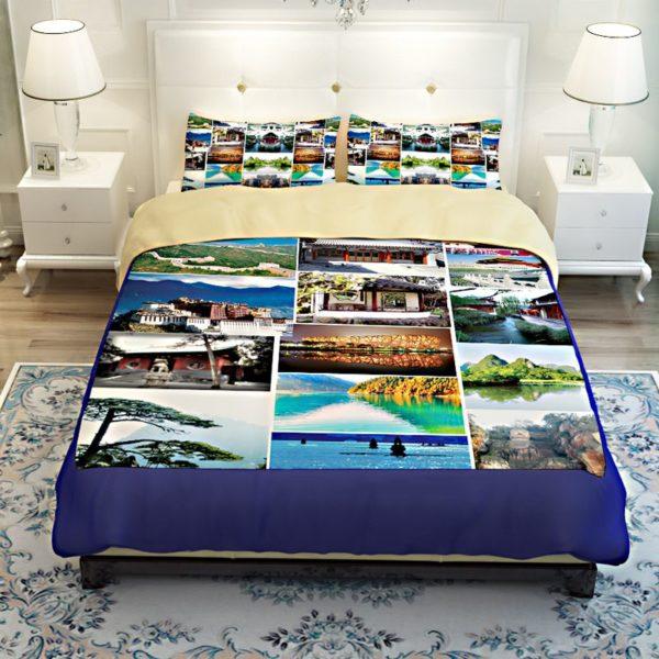 Stylish Nature Bedding Set 3 600x600 - Stylish Nature Bedding Set