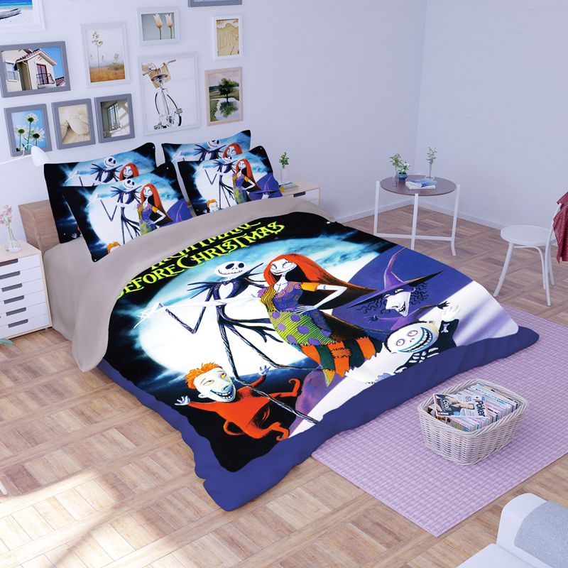the nightmare before christmas bedding set 1 600x600 the nightmare before christmas bedding set - Nightmare Before Christmas Bedding Queen