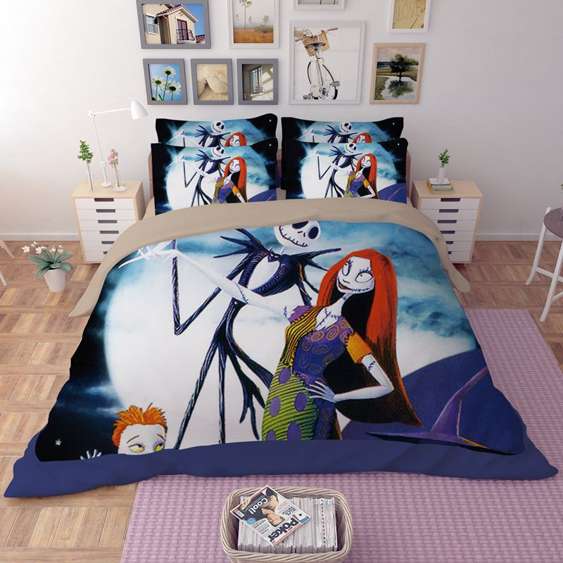 the nightmare before christmas bedding set 3 600x600 the nightmare before christmas bedding set - Nightmare Before Christmas Bedding