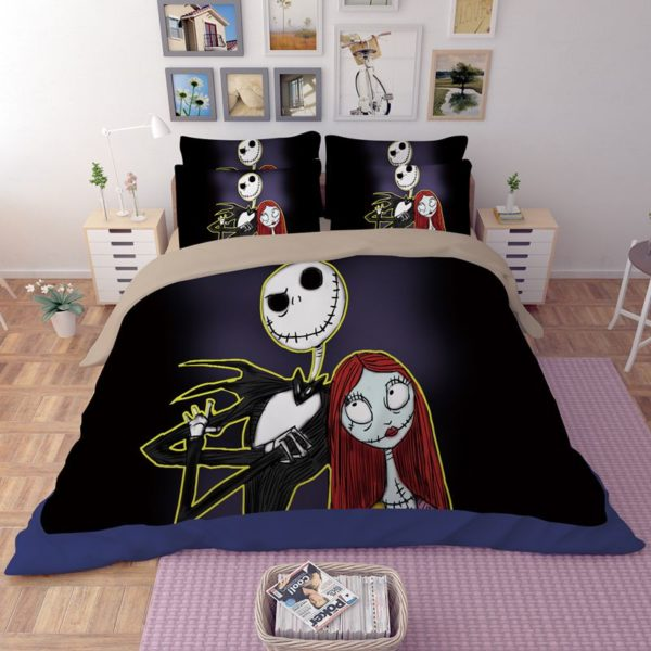 The Nightmare before Christmas Cartoon 3D Printed Bedding Sets 2 600x600 - The Nightmare before Christmas Cartoon 3D Printed Bedding Sets
