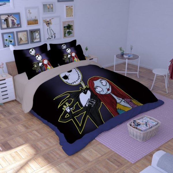 The Nightmare before Christmas Cartoon 3D Printed Bedding Sets 3 600x600 - The Nightmare before Christmas Cartoon 3D Printed Bedding Sets