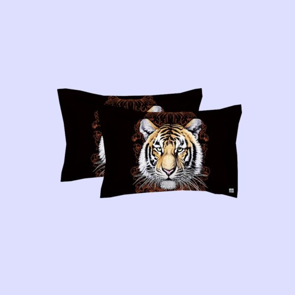 Tiger Face Printed Bedding Set 4 600x600 - Tiger Face Printed Bedding Set