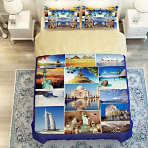 Trendy Seven Wonders Of World Bedding Set 4 300x300 - Trendy Seven Wonders Of World Bedding Set