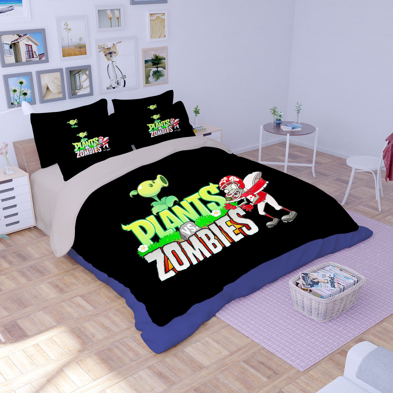 Plant Vs Zombie Bedding Set Ebeddingsets