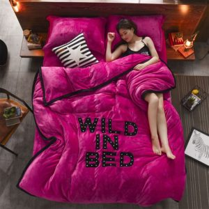 Victorias Secret Flannel Warm Embroidery Bedding FKAL ROSE RED 1 300x300 - Victoria's Secret Flannel Warm Embroidery Bedding FKAL-ROSE RED