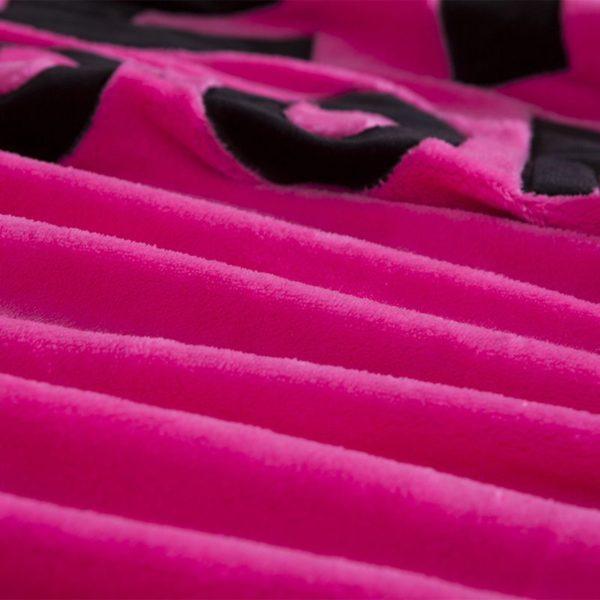 Victorias Secret Flannel Warm Embroidery Bedding LSMD PINK 8 600x600 - Victoria's Secret Flannel Warm Embroidery Bedding LSMD PINK