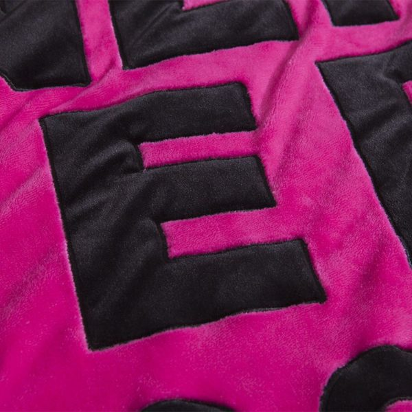 Victorias Secret Flannel Warm Embroidery Bedding LSMD ROSE 2