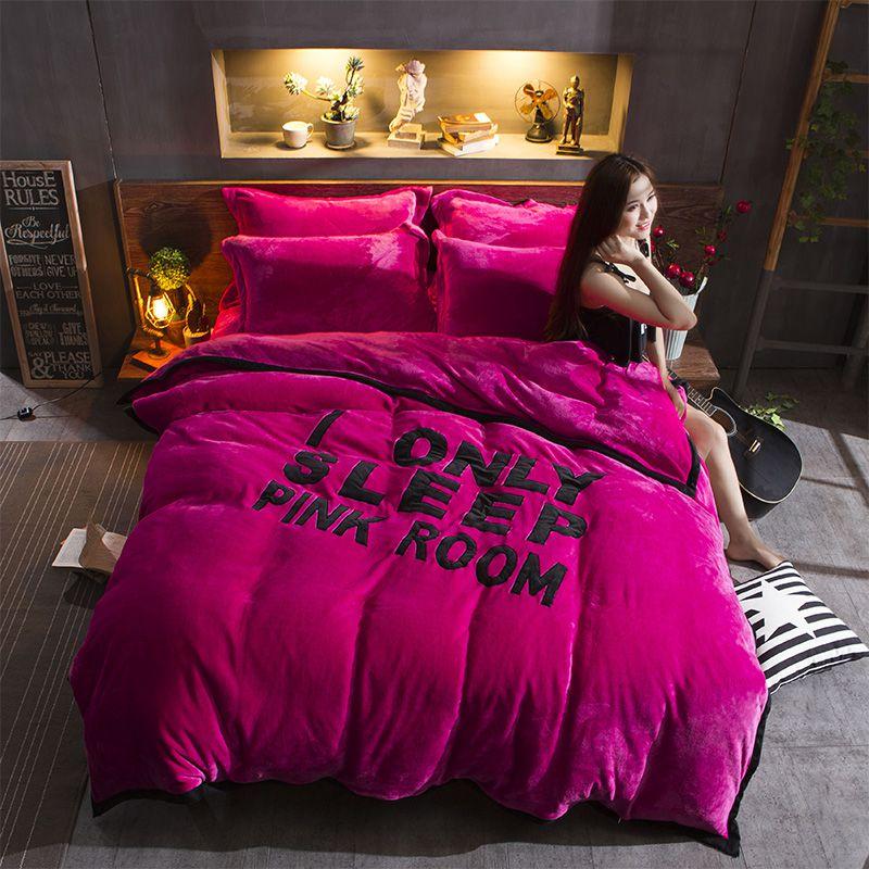 Victoria Secret Pink Bed In A Bag Queen