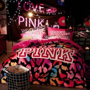 Victorias Secret Velvet Warm Pink Printing Bedding Set BB 1 300x300 - Victoria's Secret Velvet Warm Pink Printing Bedding Set BB