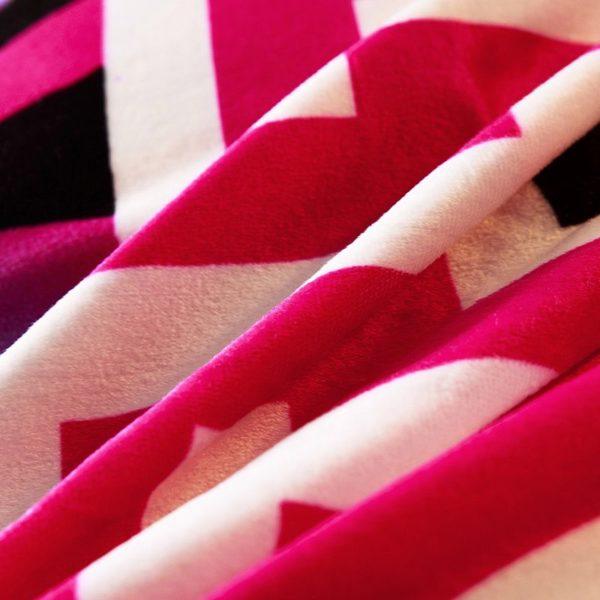 Victorias Secret Velvet Warm Pink Printing Bedding Set BB 9 600x600 - Victoria's Secret Velvet Warm Pink Printing Bedding Set BB