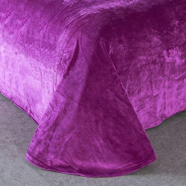 Victorias Secret Velvet Warm Pink Printing Bedding Set BQEY 2 600x600 - Victoria's Secret Velvet Warm Pink Printing Bedding Set BQEY