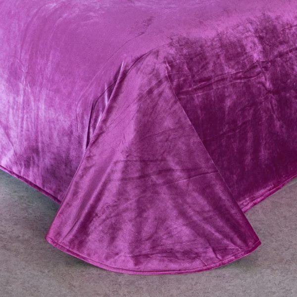 Victorias Secret Velvet Warm Pink Printing Bedding Set XL 4 600x600 - Victoria's Secret Velvet Warm Pink Printing Bedding Set XL