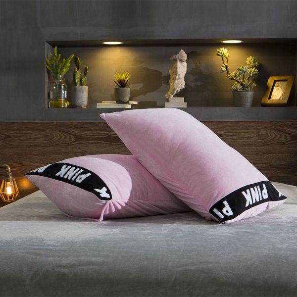 Victorias Secret Velvet Warm Tower Style Embroidery Bedding Set ASSH QF 4
