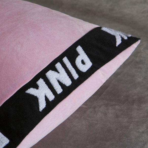 Victorias Secret Velvet Warm Tower Style Embroidery Bedding Set ASSH QF 6