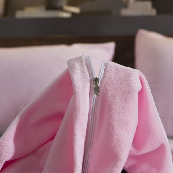 Victorias Secret Velvet Warm Tower Style Embroidery Bedding Set ASSH QF 7