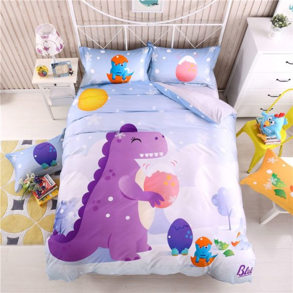 3D Dinosaur Print Bedding Set Twin Queen Size BWL 1 600x600 - 3D Dinosaur Print Bedding Set Twin Queen Size BWL