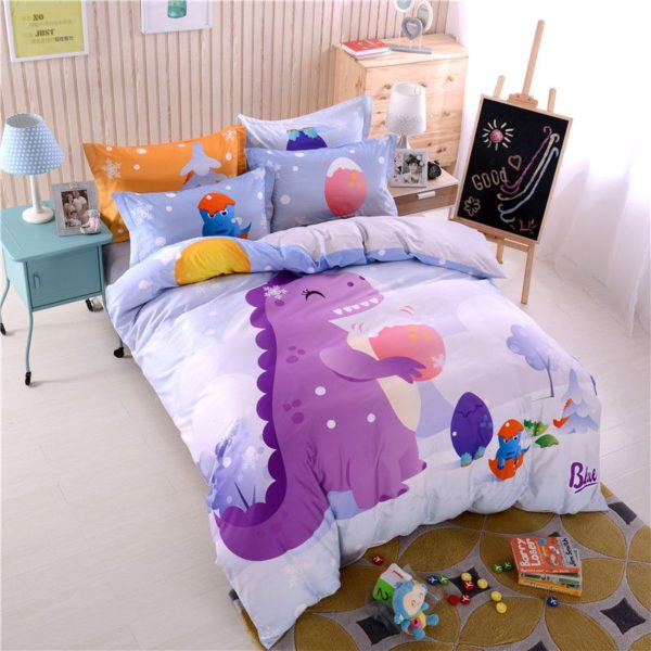3D Dinosaur Print Bedding Set Twin Queen Size BWL 3 600x600 - 3D Dinosaur Print Bedding Set Twin Queen Size BWL