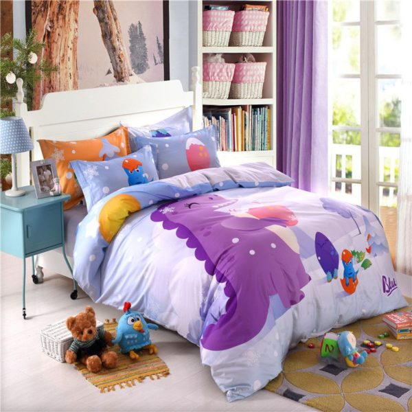 3D Dinosaur Print Bedding Set Twin Queen Size BWL 7 600x600 - 3D Dinosaur Print Bedding Set Twin Queen Size BWL