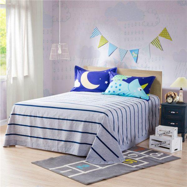 Blue Dinosaur Comforter Set Twin Queen Size SJL 4 600x600 - Blue Dinosaur Comforter Set Twin Queen Size SJL