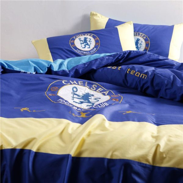 Chelsea Football Club Bedding Set Twin Queen Size 3 600x600 - Chelsea Football Club Bedding Set Twin Queen Size
