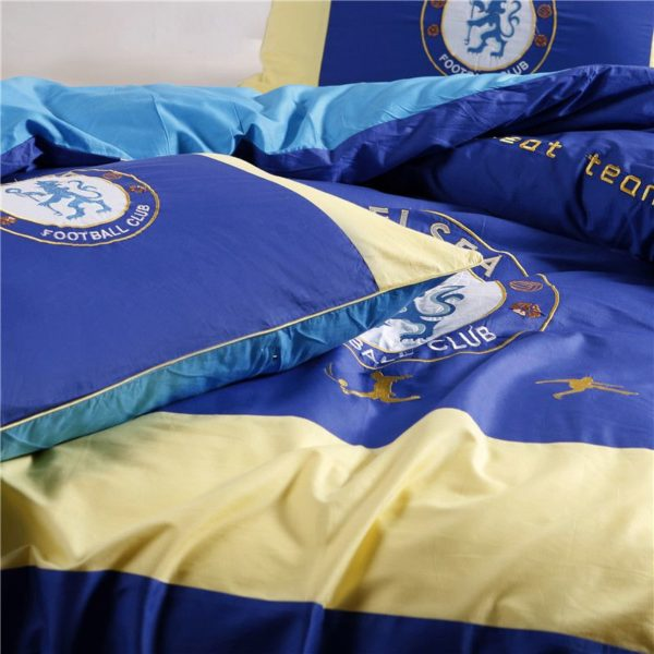 Chelsea Football Club Bedding Set Twin Queen Size